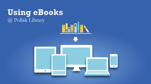 Pollak Library eBooks Promo