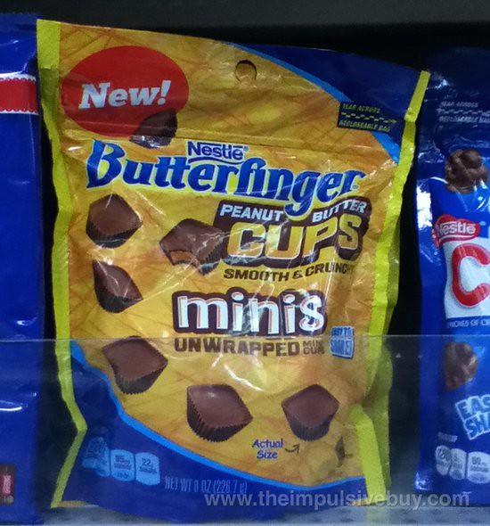 Nestle Butterfinger Peanut Butter Cups Minis