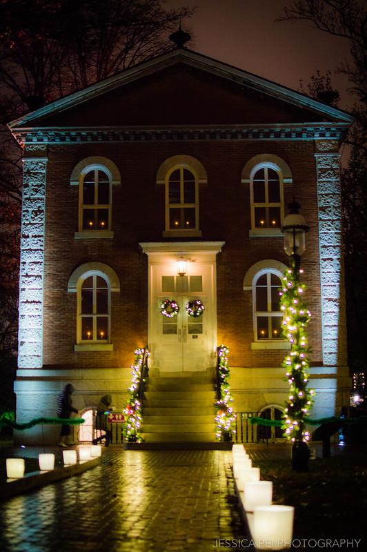 House Lights in Garden Glow St. Louis