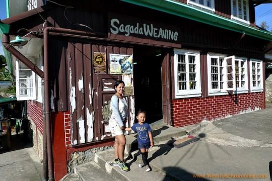 Sagada Weaving showroom