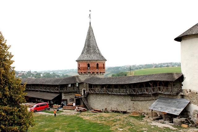 Fortaleza de Kamianets-Podilskyi