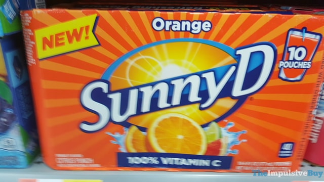 Sunny D Orange Pouches