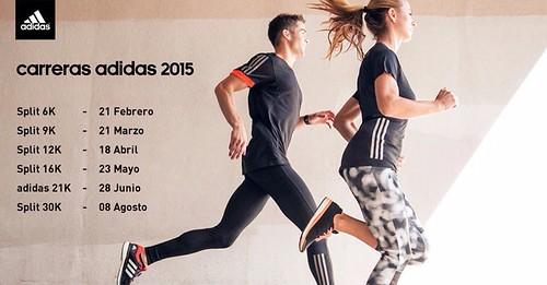 fechas splits adidas 2015