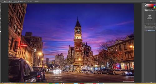 Photoshop on Lenovo Yoga 3 Pro
