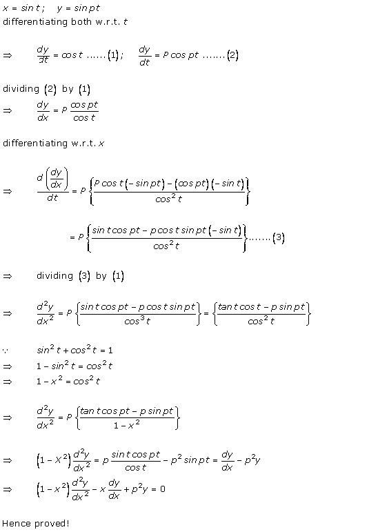 RD Sharma Class 12 Solutions Chapter 12 Higher Order Derivatives Ex 12.1 Q20
