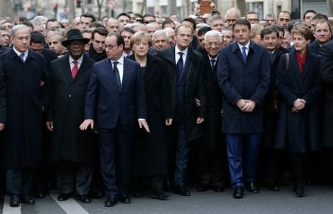Marcha en París