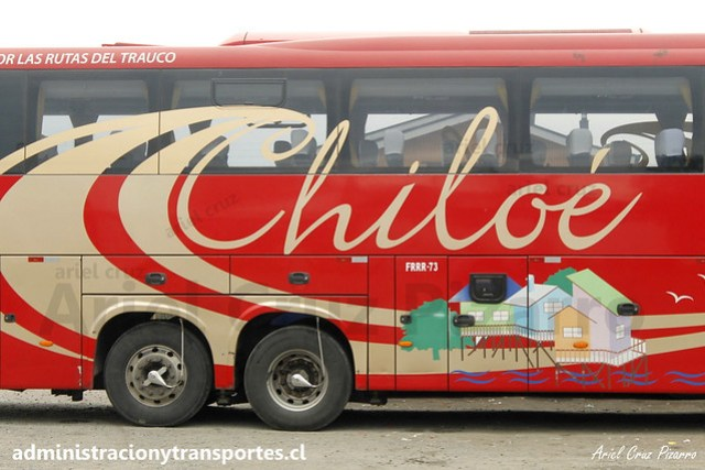 Queilen Bus (32) - Castro (Chiloé) - Mascarello Roma 370 / Mercedes Benz (FRRR73)