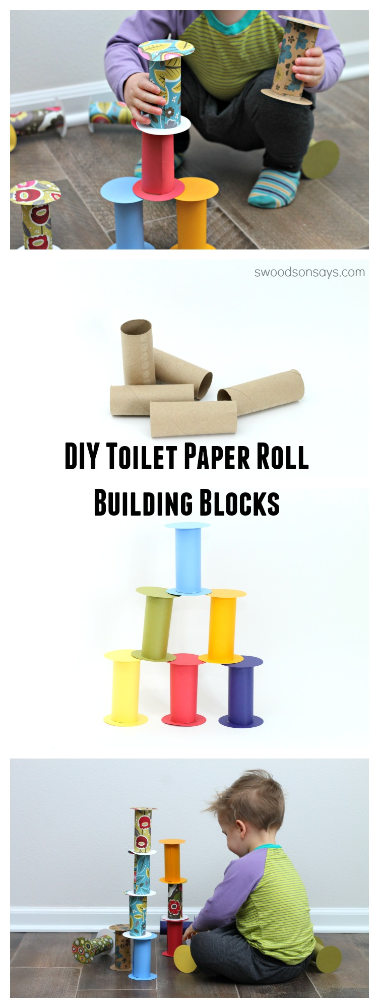 Toilet Paper Roll Toy DIY