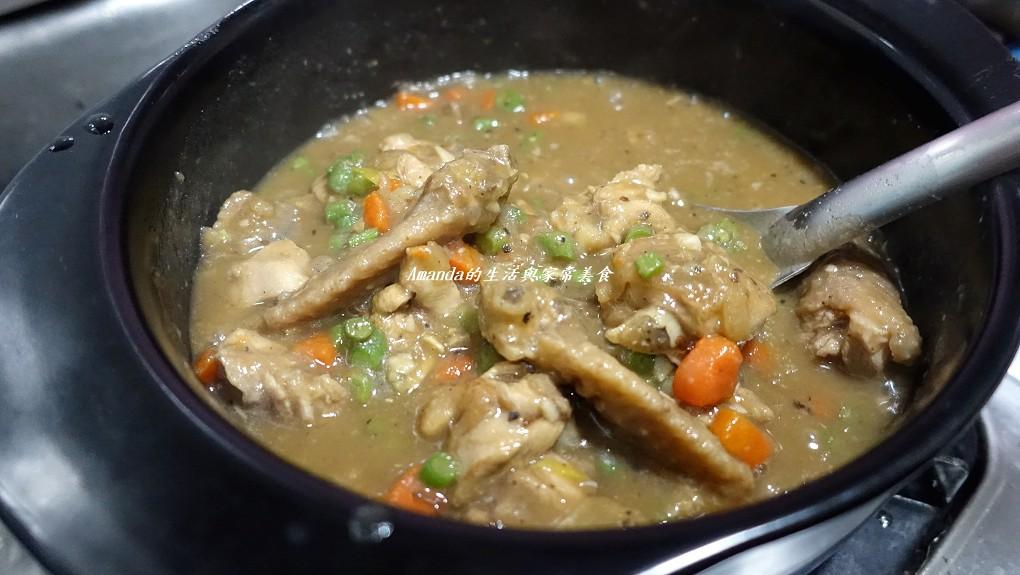 蠔油煮香雞 (2)