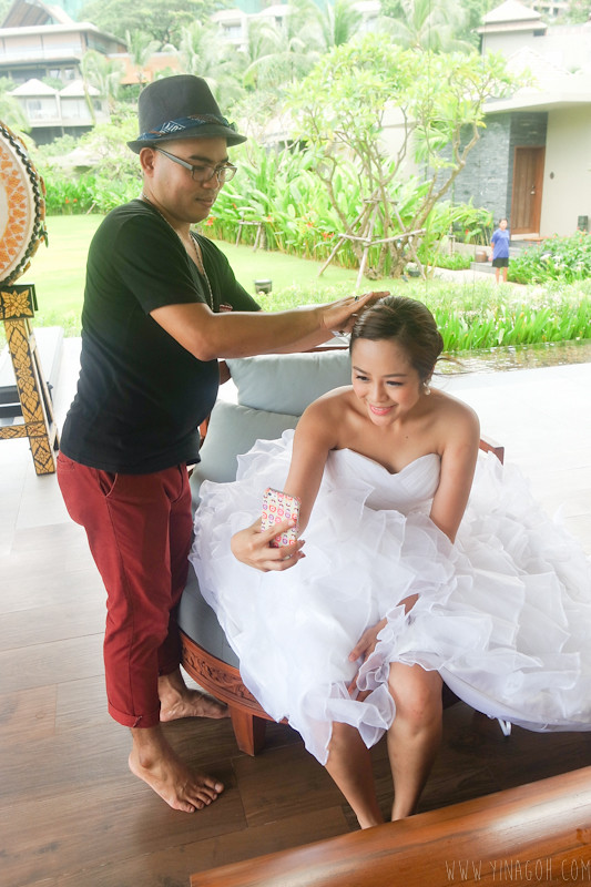 Veillage Wedding Photoshoot Phuket Singapore