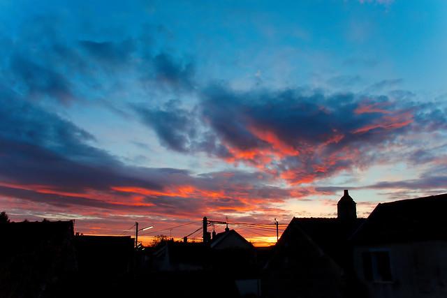 Levé de soleil du 14-11-2014