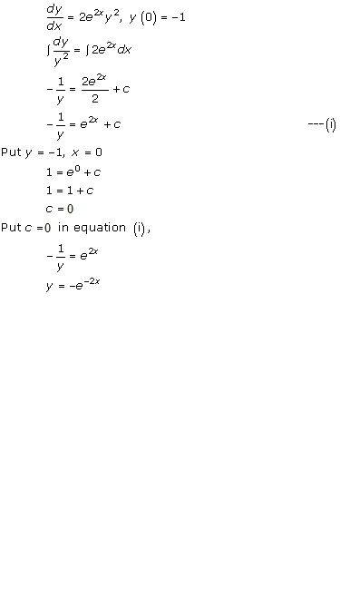 RD Sharma Class 12 Solutions Chapter 22 Differential Equations Ex 22.7 Q45-iii
