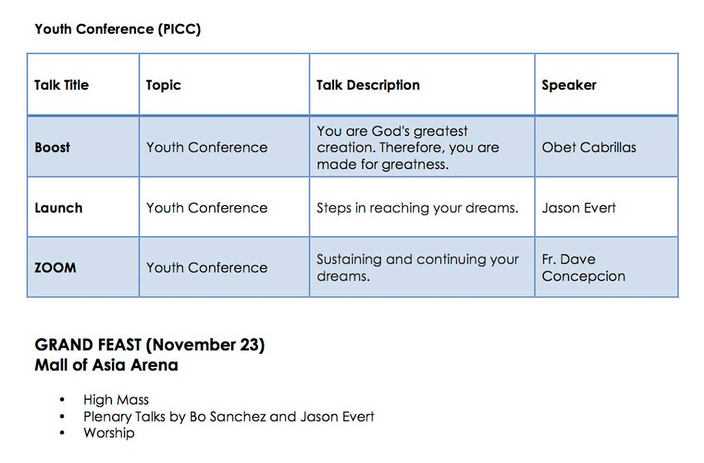 KCON2014 - Classes and Speakers 6