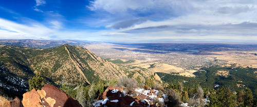 Green Mountain and Boulder