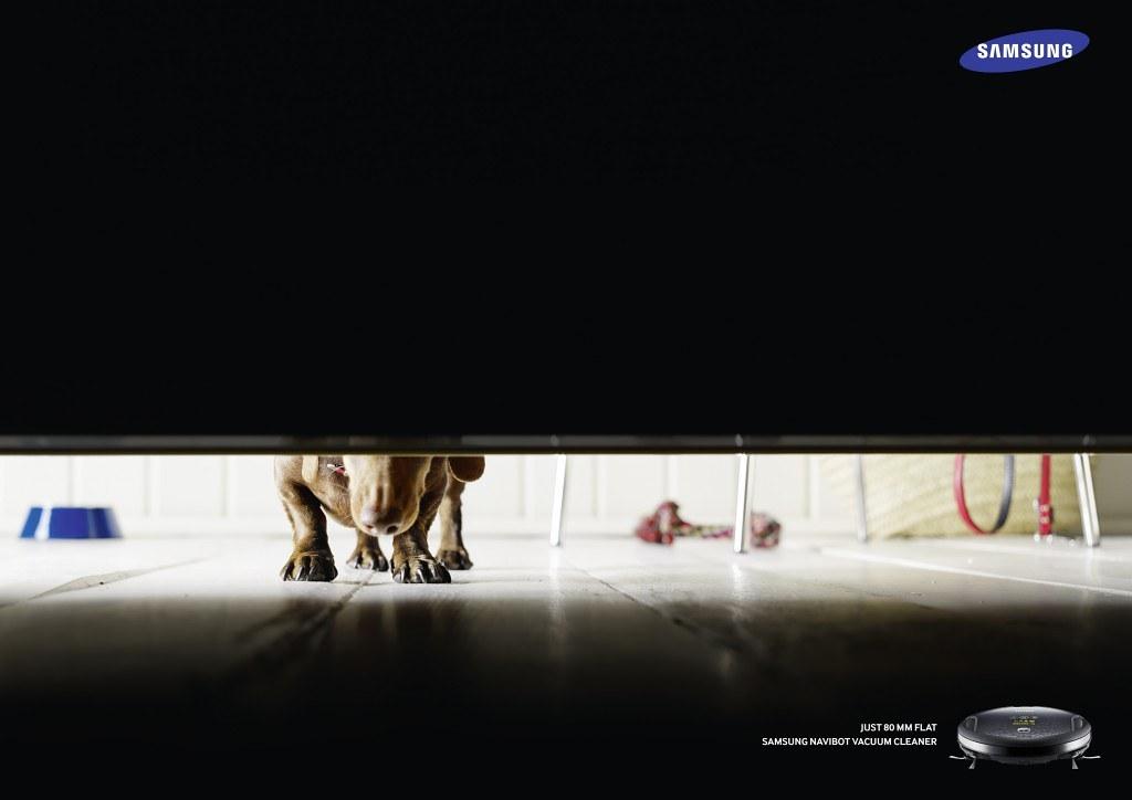 Samsung Navibot Vacuum Cleaner - Just 80mm flat 3
