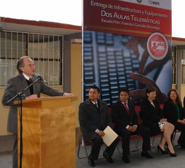 En la escuela primaria Francisco González Bocanegra