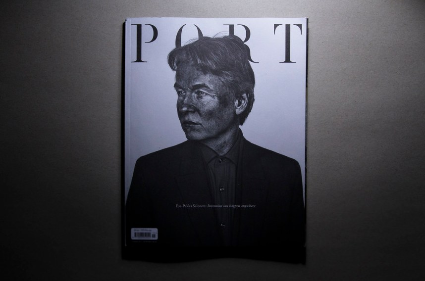Port Magazine- Esa Pekka Salonen