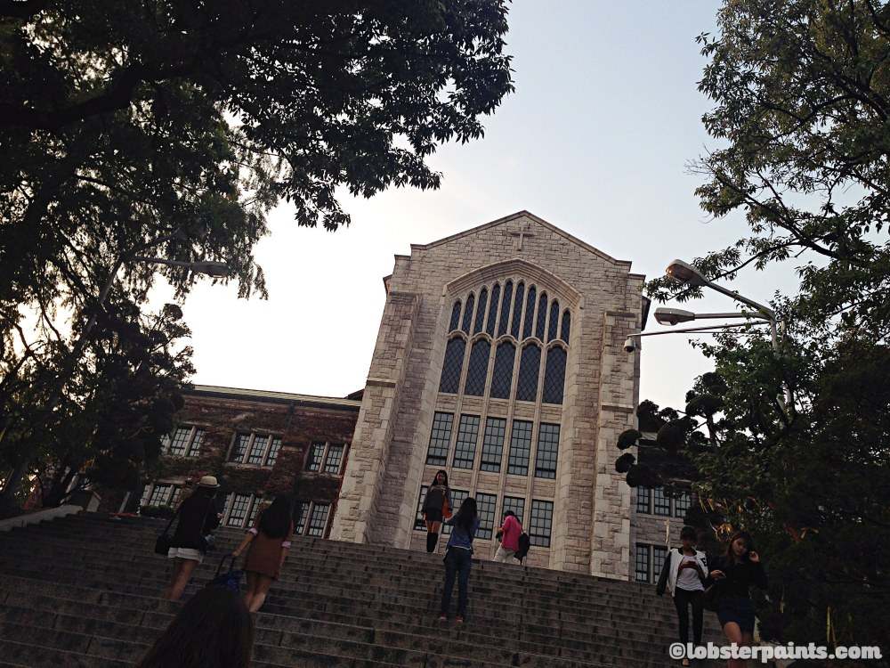 1 Oct 2014: EWHA Womans University   Seoul, South Korea
