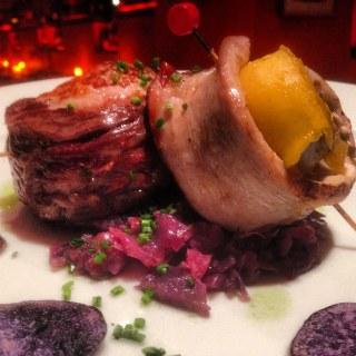 Lombarda como base de una carne. Koketo