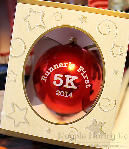 Runners first 5k ornament