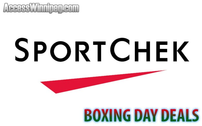 Sport Chek Boxing Day Deals 2019