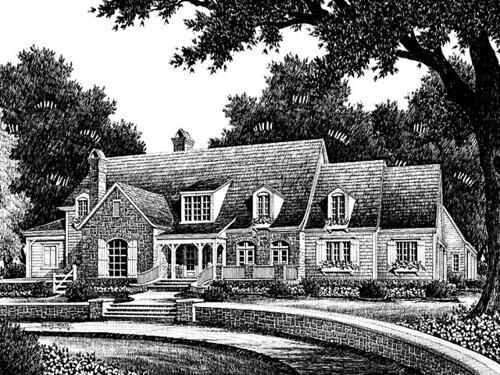 Vintage Farmhouse Plans