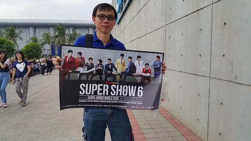 โปสเตอร์ Super Show 6 ที่เอามาแจก