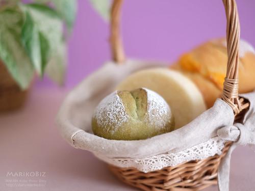 抹茶のパン 20160524-DSCF8961