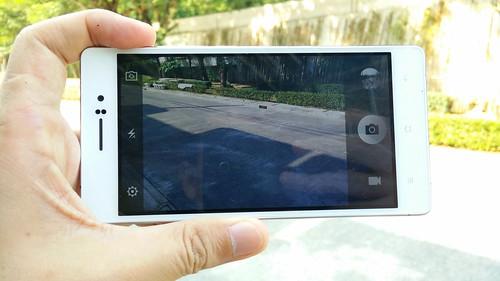 User Interface กล้องของ Oppo R5