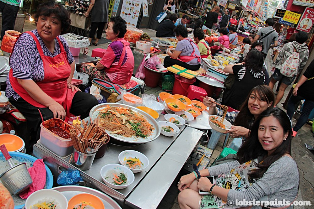 27 Sep 2014: Gukje Market Food Alley   Busan, South Korea