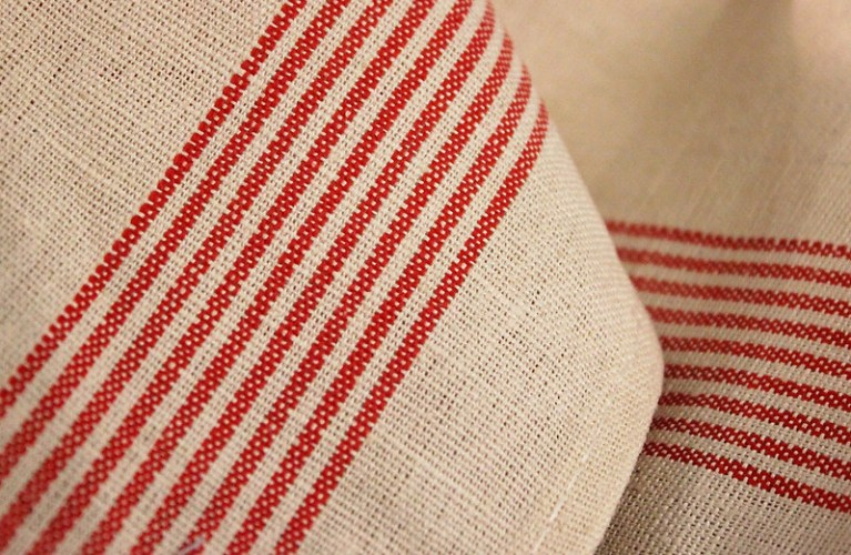 tea towel linen material - from fabricland (Christmas Preparation)