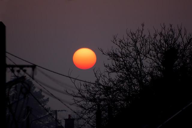 Lever de soleil du 13-03-2014