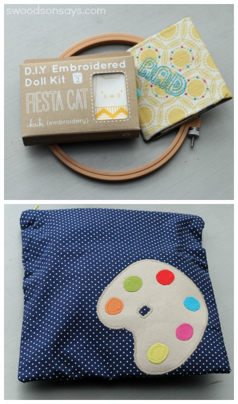 Embroidery Kit and Gift Pouch