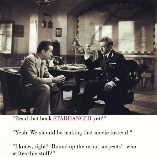 Hey, it coulda happened! You weren't there! #Stardancer #BuyItNow #books #AmWriting