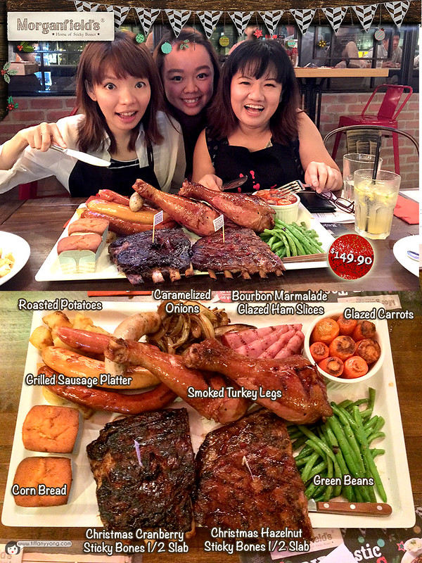 Christmas Dining Morganfields 2014 feast