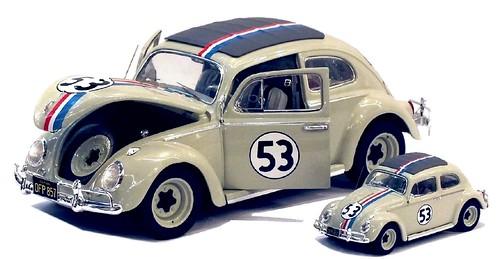 Hot Wheels Herbie 1-18 & 1-43