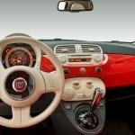 Fiat 500 Lounge 1 4 16v Multiair Dualogic 2009 Interior
