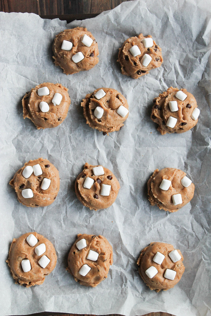 Smore's chaï latte cookies {vegan}