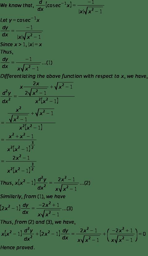 RD Sharma Class 12 Solutions Chapter 12 Higher Order Derivatives Ex 12.1 Q45