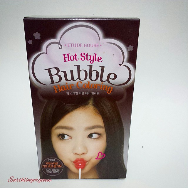 Etude House Hot Style Bubble Hair Coloring review