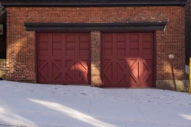 Two Door Garage on Duke