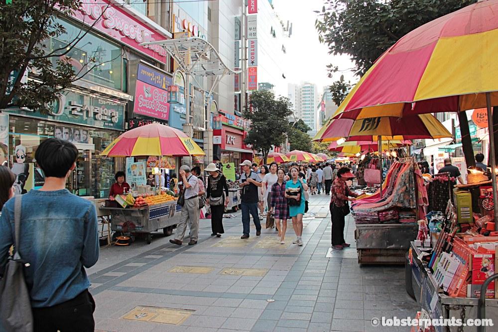 27 Sep 2014: BIFF Square   Busan, South Korea