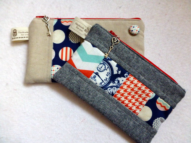 Pouches for Fabric Yard