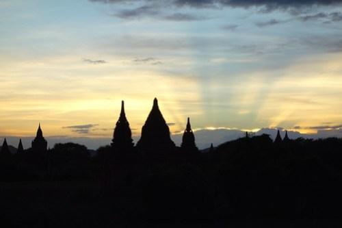 Sunset Bagan