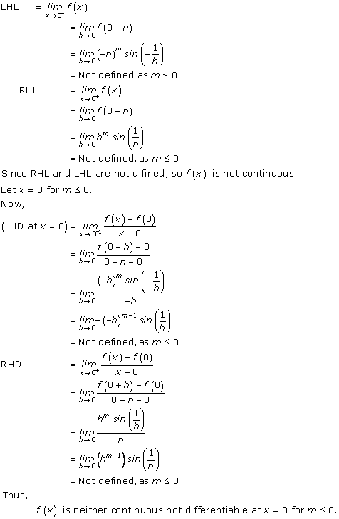 RD Sharma Class 12 Solutions Chapter 10 Differentiability Ex 10.1 Q5-iii