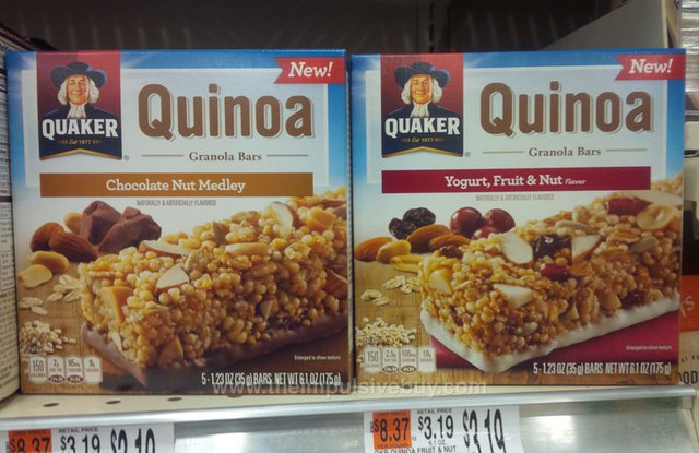 Quaker Quinoa Granola Bars