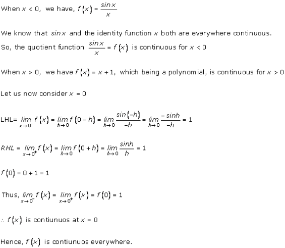 RD Sharma Class 12 Solutions Chapter 9 Continuity Ex 9 2