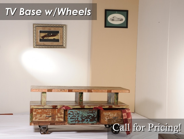 TV Base with Wheels
