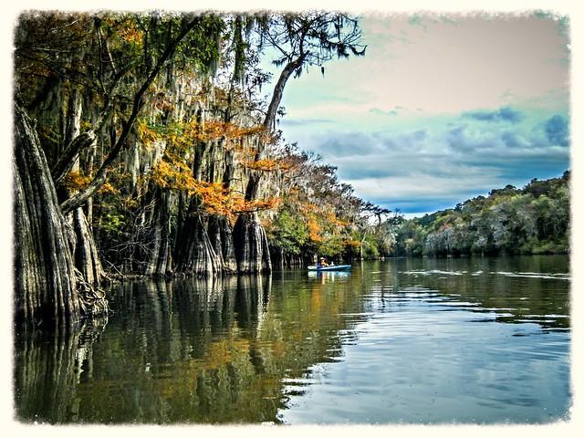 Savannah River from Stokes Bluff with LCU Nov 7, 2014, 4-18 PM Nov 8, 2014, 2-058