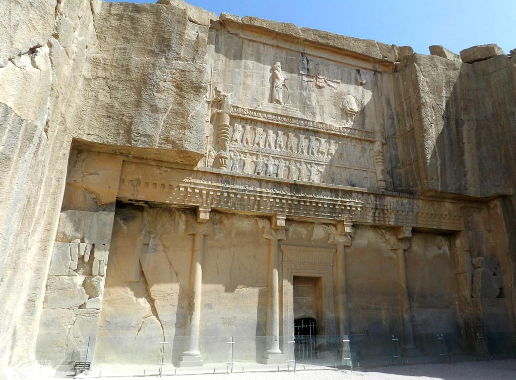 Tumba de Artajerjes III Persepolis Irán UNESCO 01
